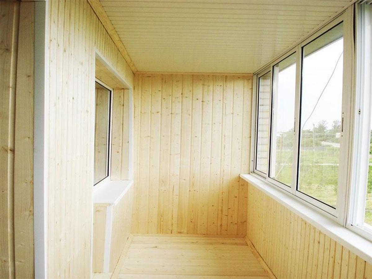 Балкон под ключ в Уфе